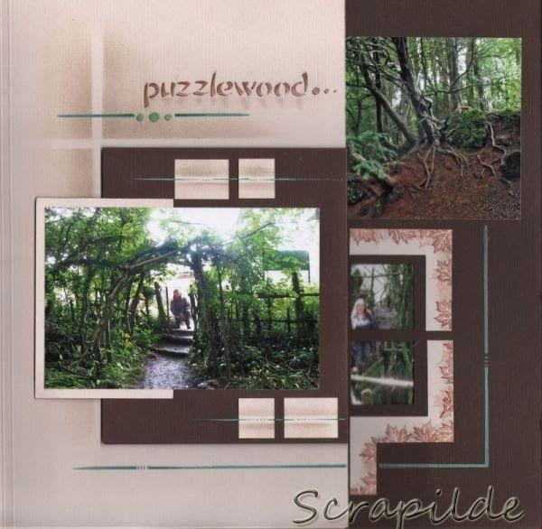 Scrapilde-album bestaande uit 5 (voorgesneden) pagina's voor en achterkant bewerkt, gabarit brussel-mexico, overzicht, kijk voor de ganse serie op mijn blog !
