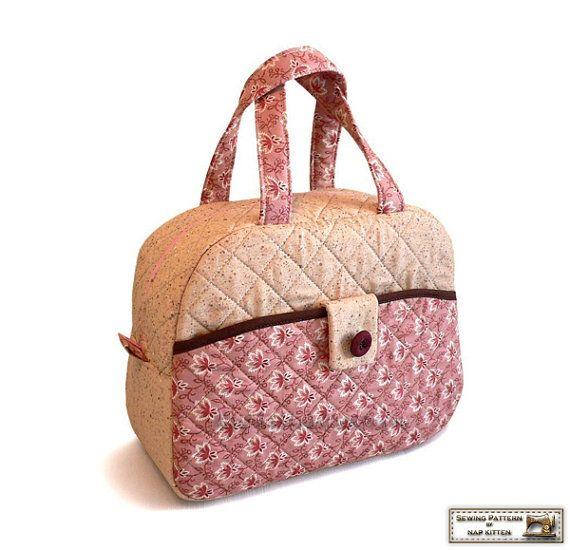Více než 25 nejlepších nápadů na Pinterestu na téma Quilted Bags ... : quilt bag patterns - Adamdwight.com