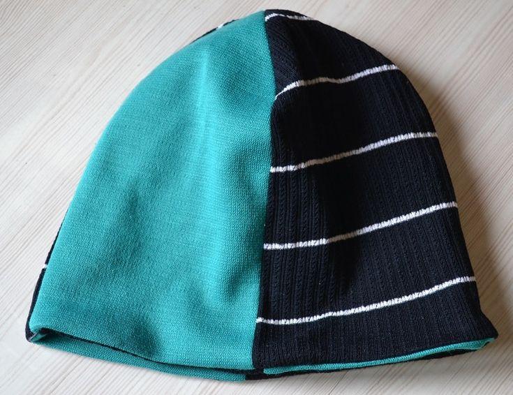 Детская трикотажная шапка своими руками