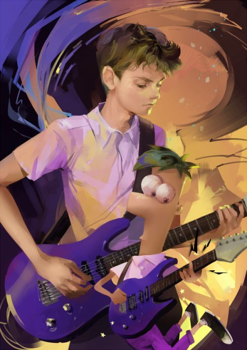 yukim116:  Ferb and Thomas Sangster