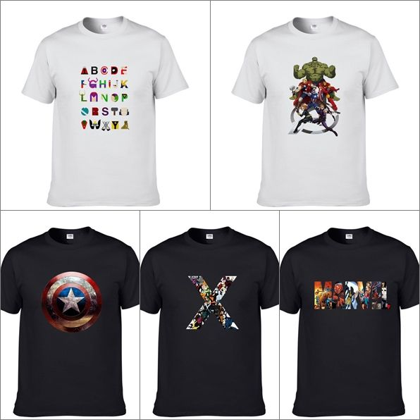 Marvel themed T-shirts //Price: $20.00 & FREE Shipping //     #batman #deadpool #marvelc #dc