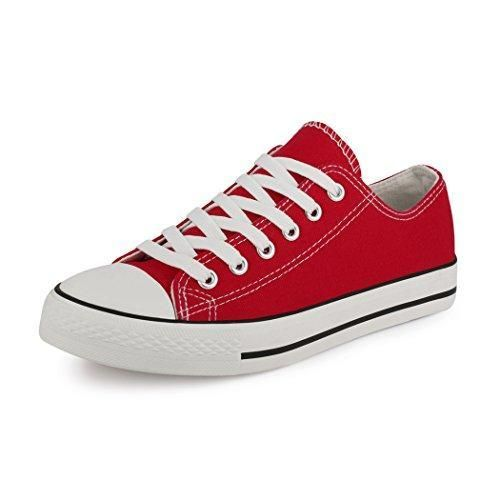 Oferta: 14.3€. Comprar Ofertas de best-boots - Zapatillas para mujer Rojo Size: 40 barato. ¡Mira las ofertas!
