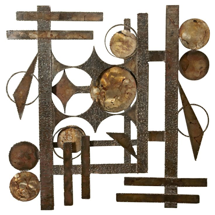 Abstract  Scandinavian Wall Sculpture In Iron | From a unique collection of antique and modern wall-mounted sculptures at http://www.1stdibs.com/furniture/wall-decorations/wall-mounted-sculptures/