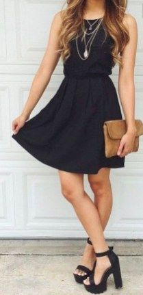 Adorable date night style for romantic moment 06