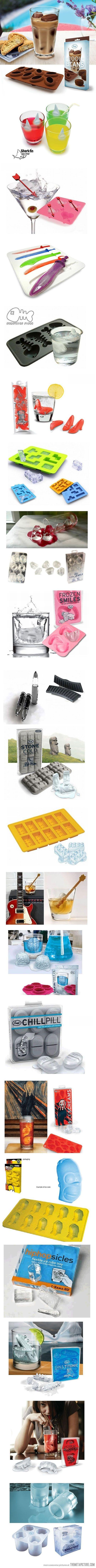 creative ice cubes