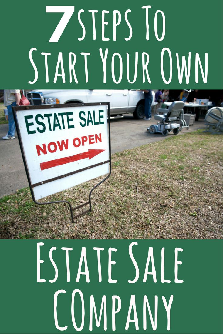 Start your Own Estate Sale Company