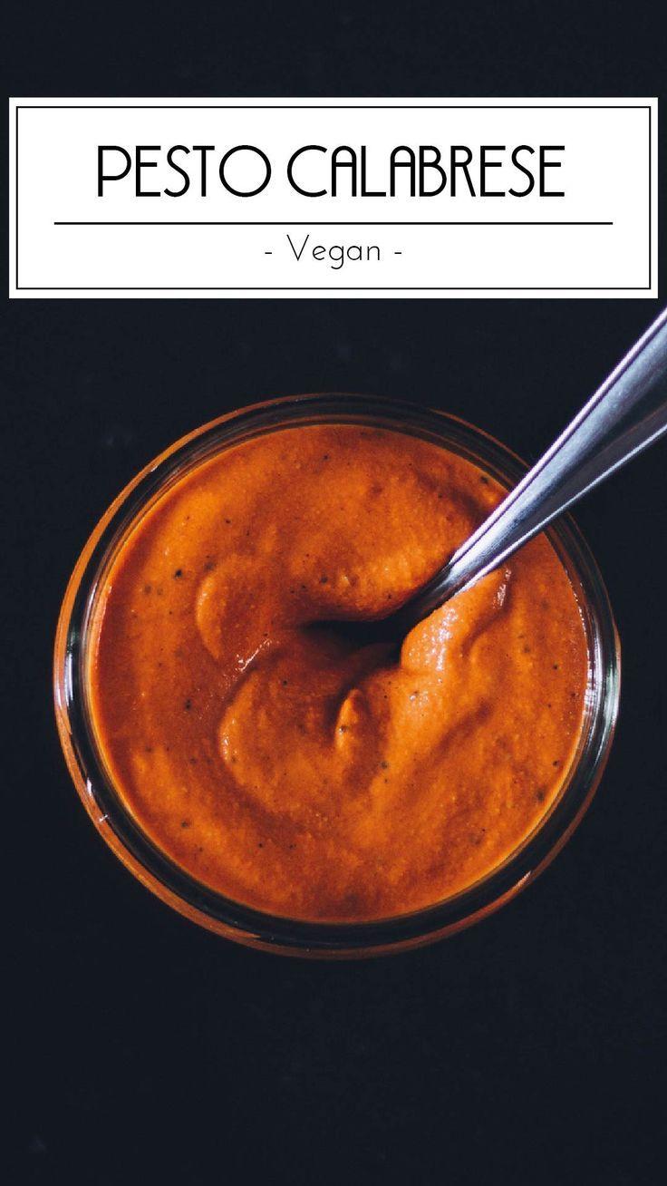 Unsere vegane Variante des beliebten Pesto Calabrese besticht durch ... -...