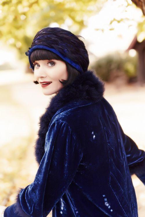Essie Davis as Phryne Fisher | Essie Davis as Phryne Fisher in Miss Fisher's Murder Mysteries