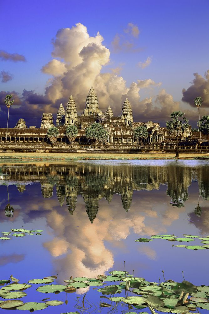 Massive buried towers unearthed in Angkor Wat | Angkor wat ...