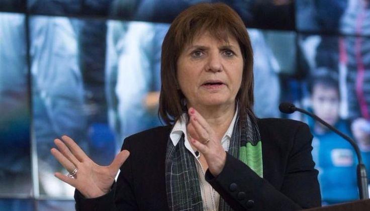 """Bullrich manifestó que hay """"preocupación"""" en el Gobierno por los atentados terroristas: La ministra Patricia Bullrich expresó hoy su…"""