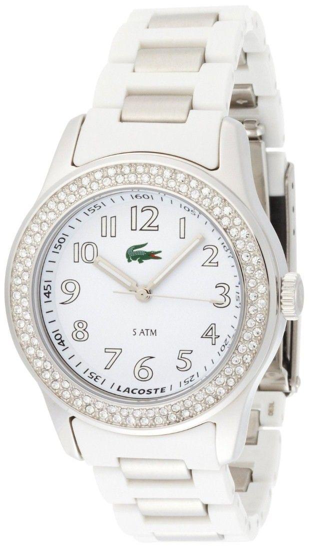 Women's watches | Best White Watches For Women Lacoste Women`s Advantage Tennis Watch