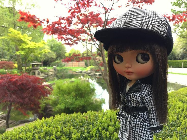 Kyoto Gardens #erregiro #erregirodolls #bigeyes #blythe #doll #boneca #muñeca #custom #blythedoll #carving #poupée #makeup #sculpt #maquillaje #instadoll #hollandpark #手首 #ブライズ #fashion #moda #ブライスドール #art #diseño #design #instablythe #arte #arttoy #toy #kyotogardens #london