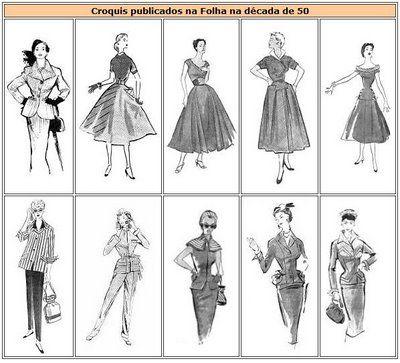P U U R O G L A M M: Década de 50 - História da Moda