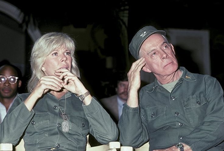 Harry Morgan and Loretta Swit at an event for M*A*S*H (1972)