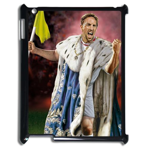 Franck Ribery King Lion Case for iPad 2/3/4