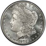 With Silver prices at $33.72 an ounce and copper at $3.84 per pound.  The melt down worth of the Morgan Silver Dollar (90% silver, 10% copper) is $26.10.