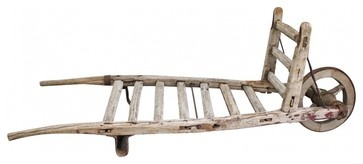 Hay Wheel Barrow - eclectic - gardening tools - new york - Second Shout Out