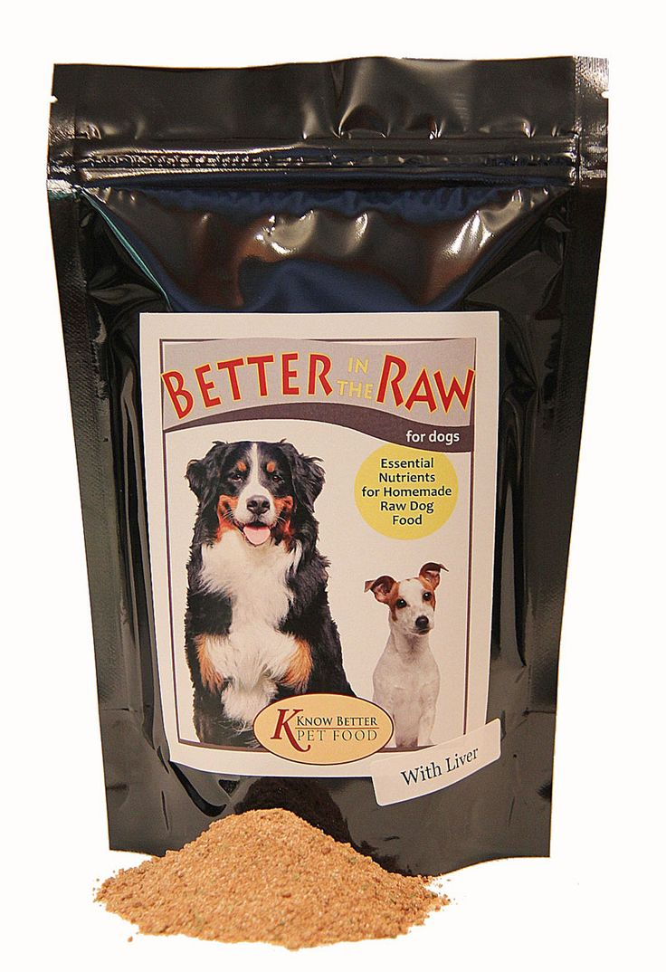 Better in the Raw for Dogs Dog food supplement, Dog food