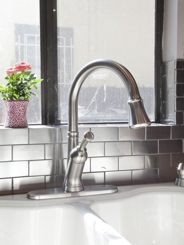 Best Stainless Backsplash Ideas On Pinterest Stainless Steel