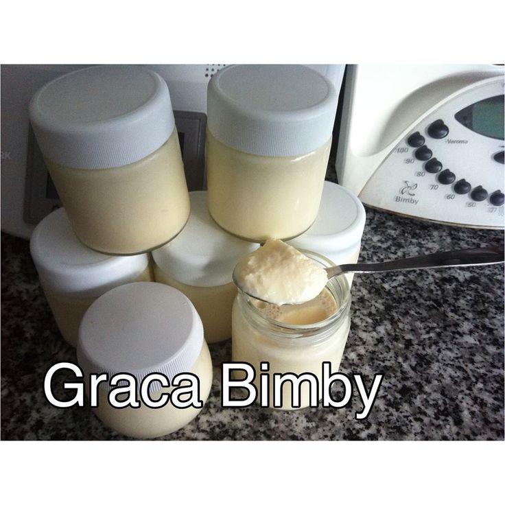 Iogurtes sólidos com polpa de ananás      Rendeu 7 frascos   1000gr de leite  120 gr de açúcar amarelo 1 iogurte solido de ananás (pode usa...
