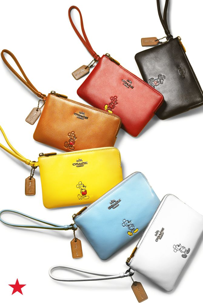 For the girl who grew up loving Disney, these Coach wristlets are a perfect transition into her teens without leaving Mickey behind. Shop the collection and more at Macy's!