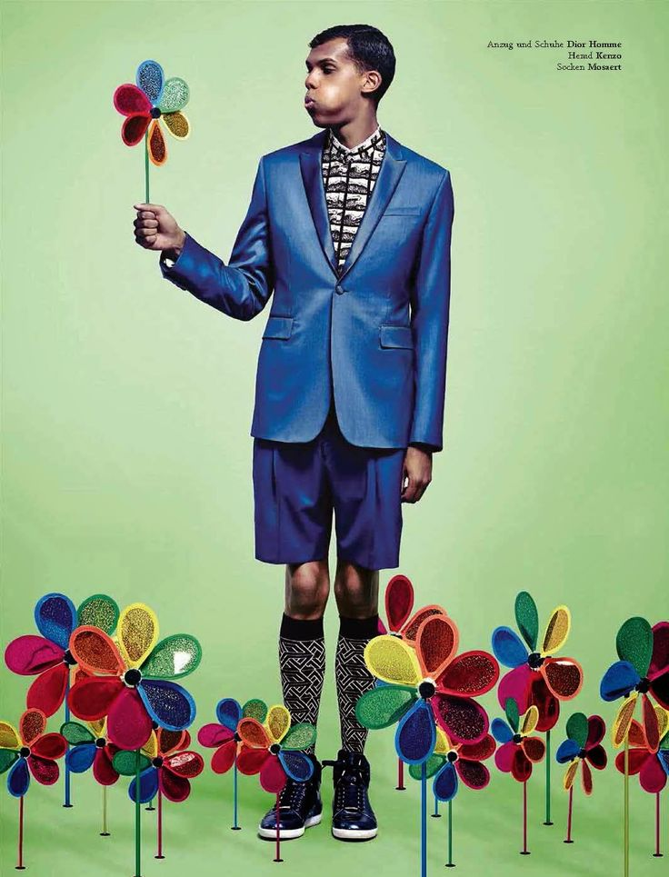 Stromae on the cover of L'Officiel Hommes Desutschland July 2014