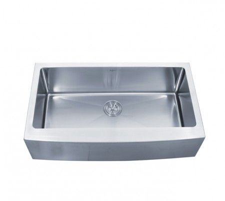 24 Inch Stainless Steel Farmhouse Sink : ... inch Farmhouse Apron Single Bowl 16 gauge Stainless Steel Kitchen Sink