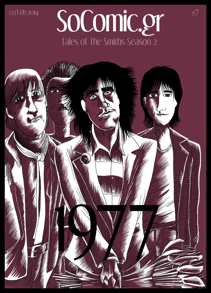 #Tales_of_The_Smiths #Band #Morrissey_Comic #Con_Chrisoulis #Music #The_Smiths #Morrissey