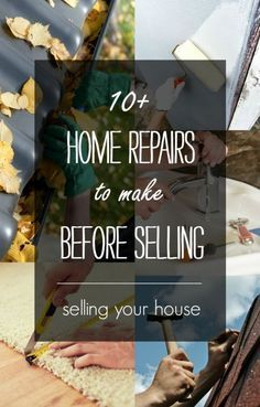 You don't want your sellers trying to build a second story or do a full kitchen remodel right before selling. These quick and affordable fixes will do. #sellhome