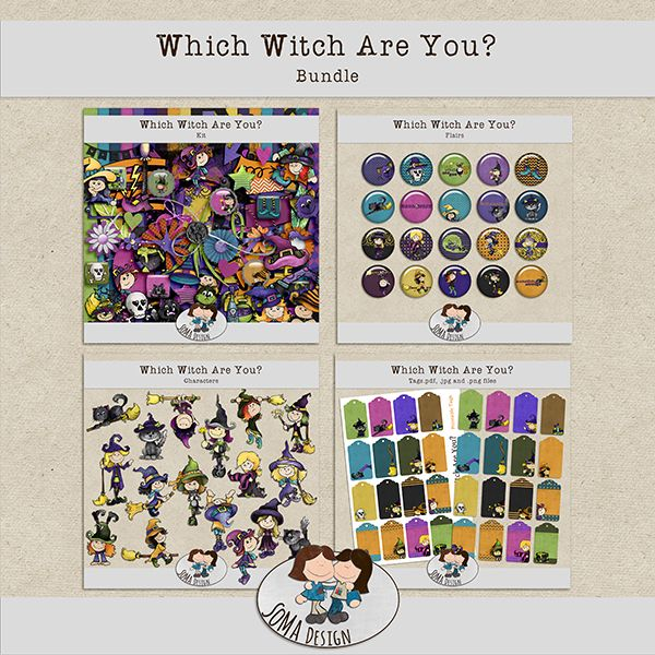 SoMa Design: Which Witch Are You? - Bundle