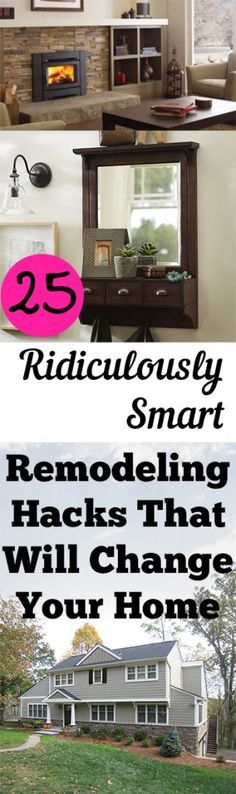 1000 ideas about home upgrades on pinterest easy home upgrades diy kitchen remodel and home - Home interior designs hacks ...