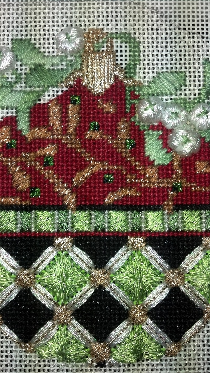 Needlework-The constant thread: A few small finishes.........