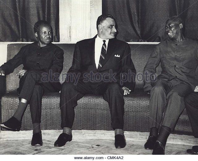 Julius Nyerere and Gamal Nasser
