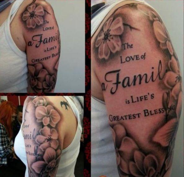 Family Tattoos For Men Sleeve
