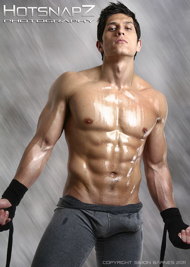 Young hunk with six pack abs please