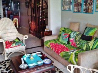 Residence Cyanne Vue mer, bourg Ste-Anne, beau T3, 2 chambres climatisées, 4 personnes (Réf:5648 Appartement Guadeloupe SainteAnne)