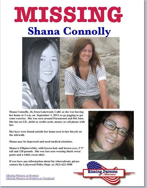 HAPPY UPDATE 9/5/13 - Shana's family announced that Shana has been found and  is safe. (via Missing Persons of America) TY Jackie.