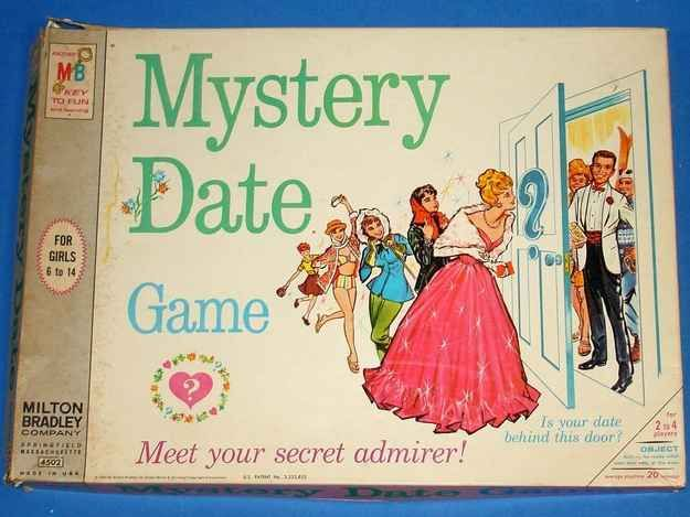 The Mystery Date Game | 18 Vintage Board Games You Won't Believe Actually Exist