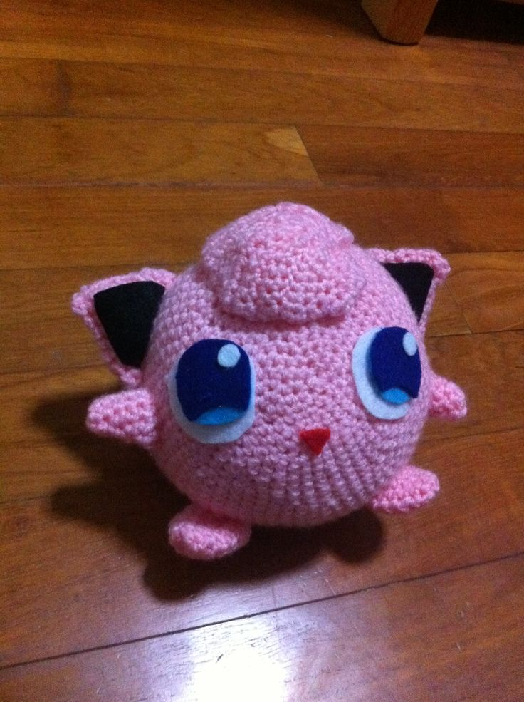 My Crochet Pokemon, Jigglypuff! Crochet/Knit Pinterest ...