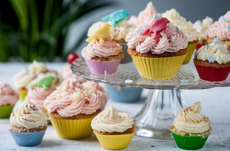 Frances Atkins' Party Fairy Cakes - Tesco Real Food - Tesco Real Food