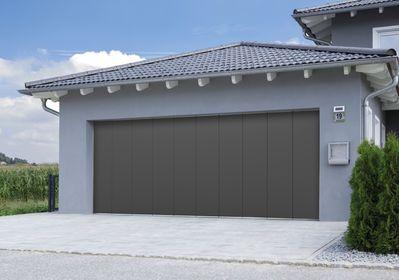 Porte de garage sectionnelle latérale - Normstahl
