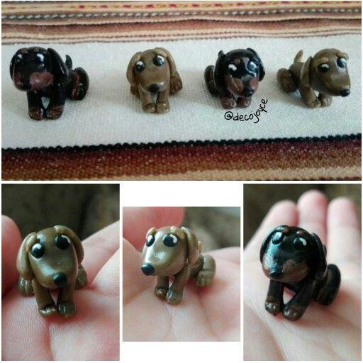 Mini perros salchichas ♡