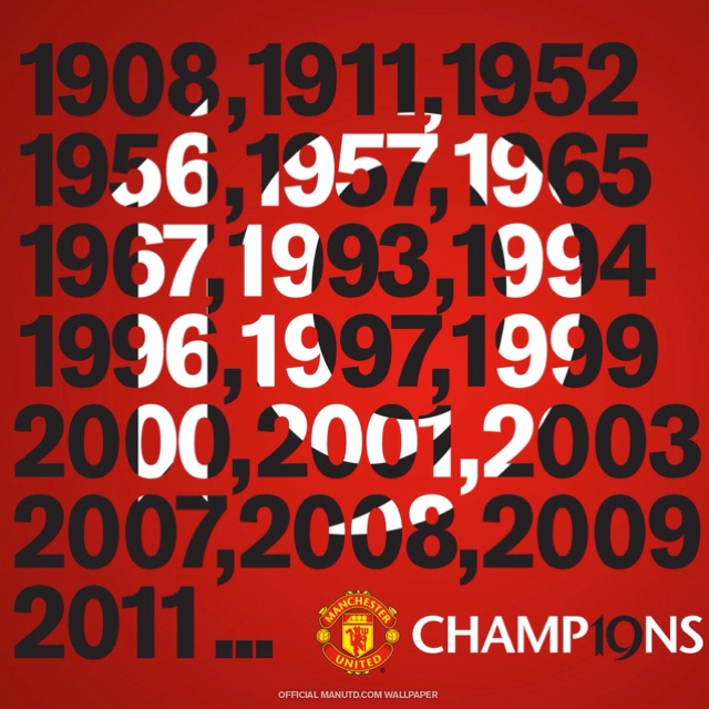 ManUtd - 19 league titles and counting