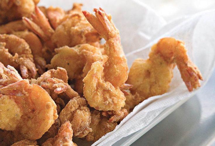 Bayou Fried Shrimp Recipe   Leite's Culinaria