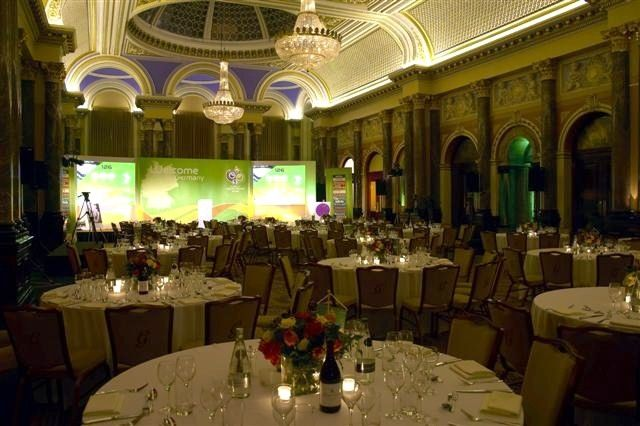 Cabaret style for up to 200 delegates www.gibsonhall.com
