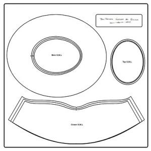 leather hat pattern - Google Search