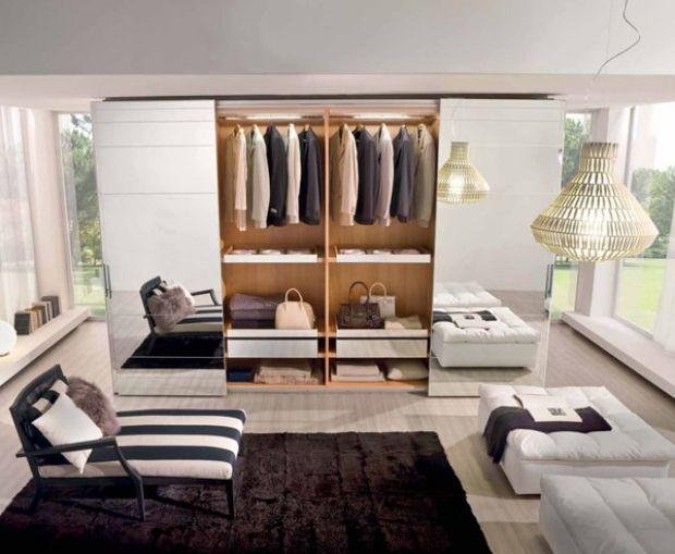 Cute Kleiderschrank spiegelt ren Innenausstattung Stauraum Ahorn Holz Schubfacheins tze
