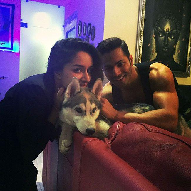 Varun Dhawan and Shraddha Kapoor on Instagram. #Bollywood