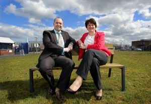 Enterprise Minister Arlene Foster has officially opened the new premises of Environmental Street Furniture Limited in Newtownabbey.