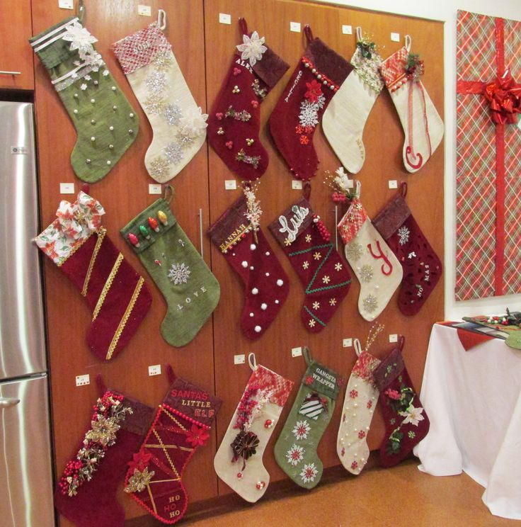 Guests At KIs Stockings And Stuffings Event In Boston Received Their Very Own Pallas Textiles Stocking